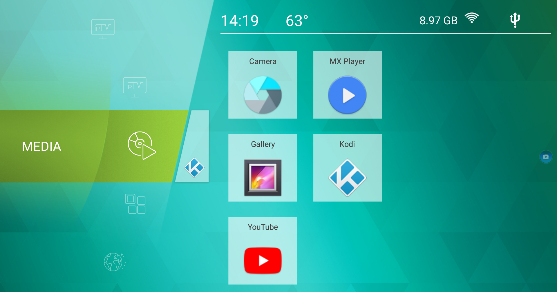 ugoos tv launcher apk